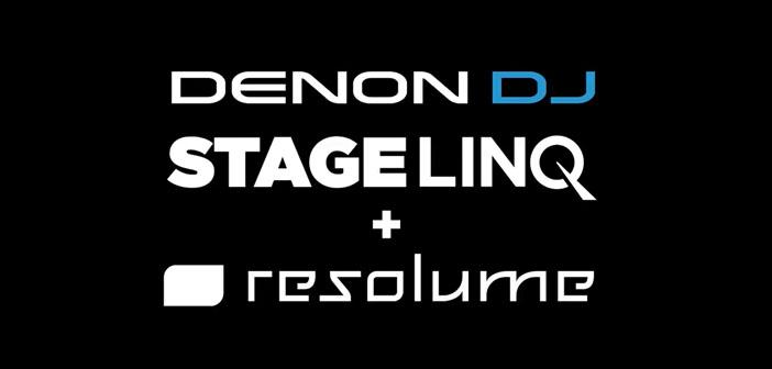 StageLinQ mit SoundSwitch und Resolume integration