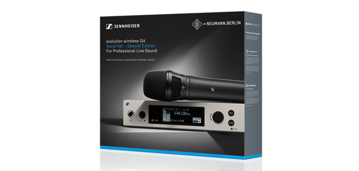 Sennheiser evolution wireless ew 500 G4-KK205 Set