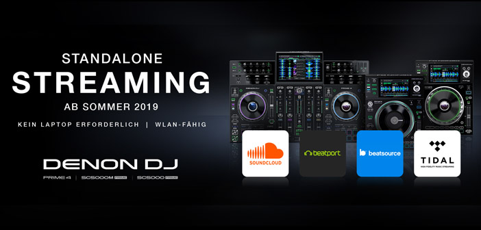 DENON DJ STANDALONE STREAMING