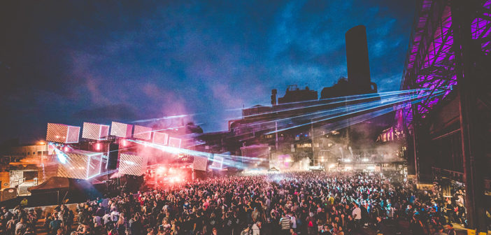 RCF auf dem Elektro-Festival Electro Magnetic 2019