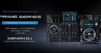 Denon DJ – Prime Series Firmware Update v1.4
