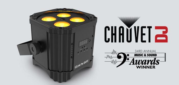 Chauvet DJ EZLink Par Q4BT