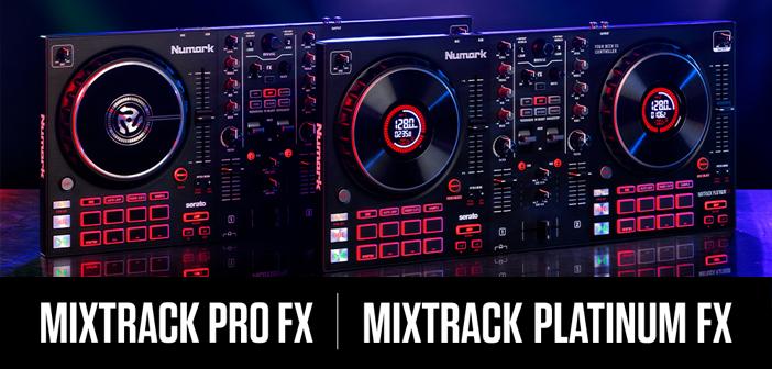 Numark Mixtrack Platinum FX und Mixtrack Pro FX