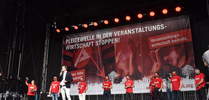 Großdemo #AlarmstufeRot am 09.09.2020 in Berlin