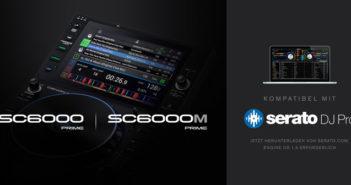 SC6000/M mit Serato-Integration